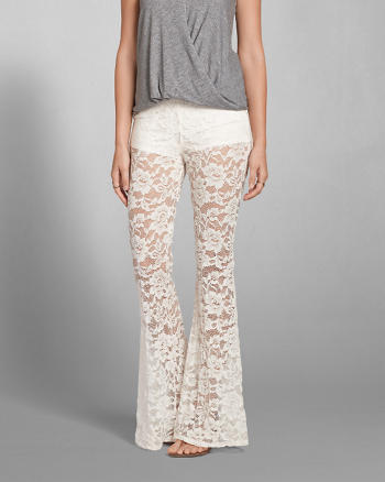 ANF Lace Flare Pants