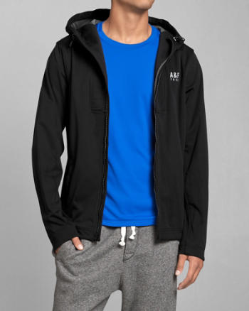 Mens A&F Active Running Jacket