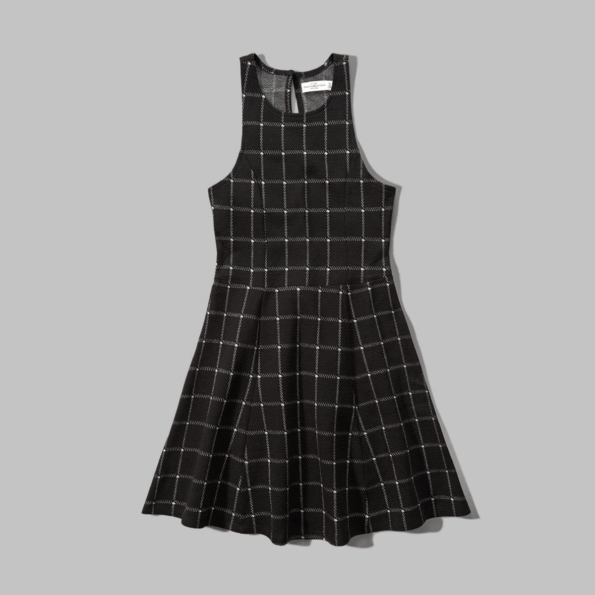 Plaid Skater Dress