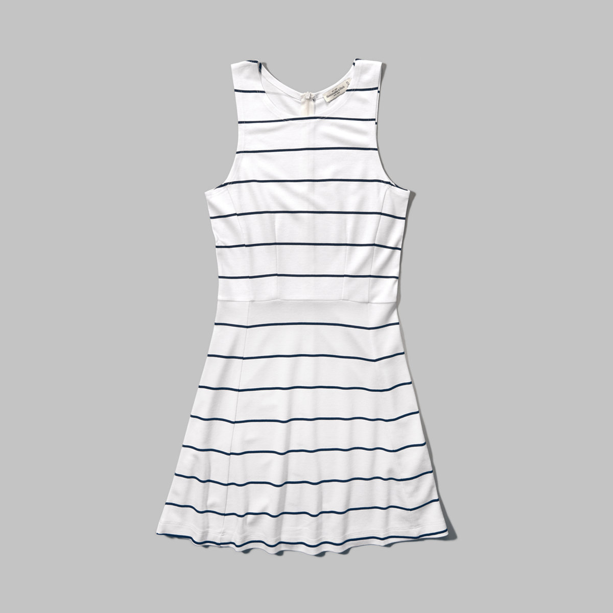 Nautical Striped Skater Dress