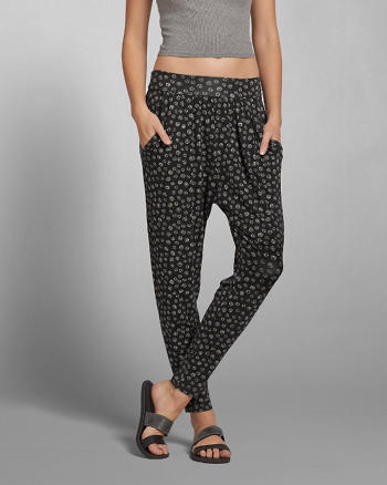 ANF Pattern Harem Pants