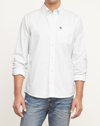 Mens Twill Pocket Shirt