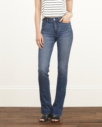 ANF High Rise Boot Jeans