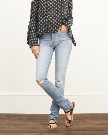 ANF High Rise Skinny Jeans