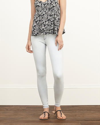 ANF A&F High Rise Jean Leggings