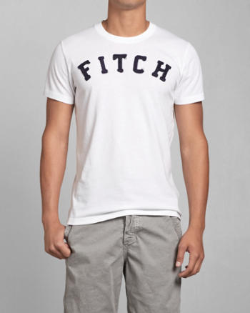 Mens A&F Graphic Tee