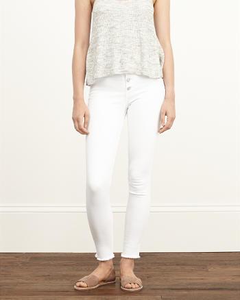 ANF A&F High Rise Super Skinny Jeans