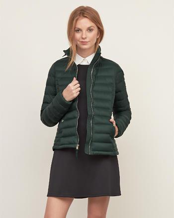 ANF A&F Down Series Lightweight Puffer Jacket