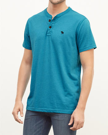 ANF Muscle Fit Henley