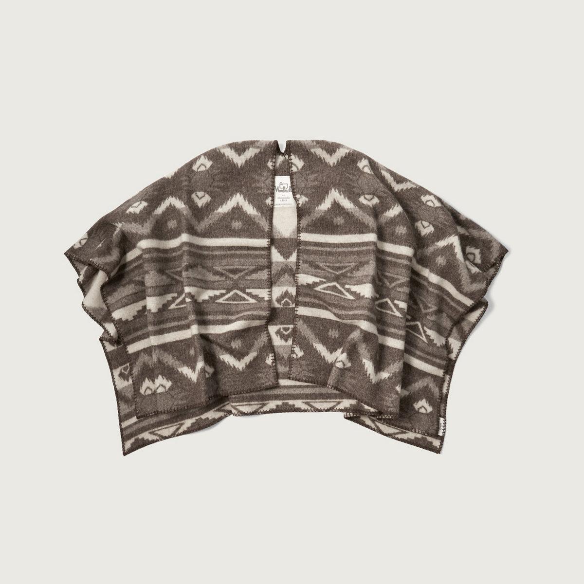 Woolrich Blanket Poncho