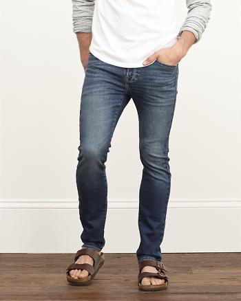 ANF Skinny Sweatpant Stretch Jeans