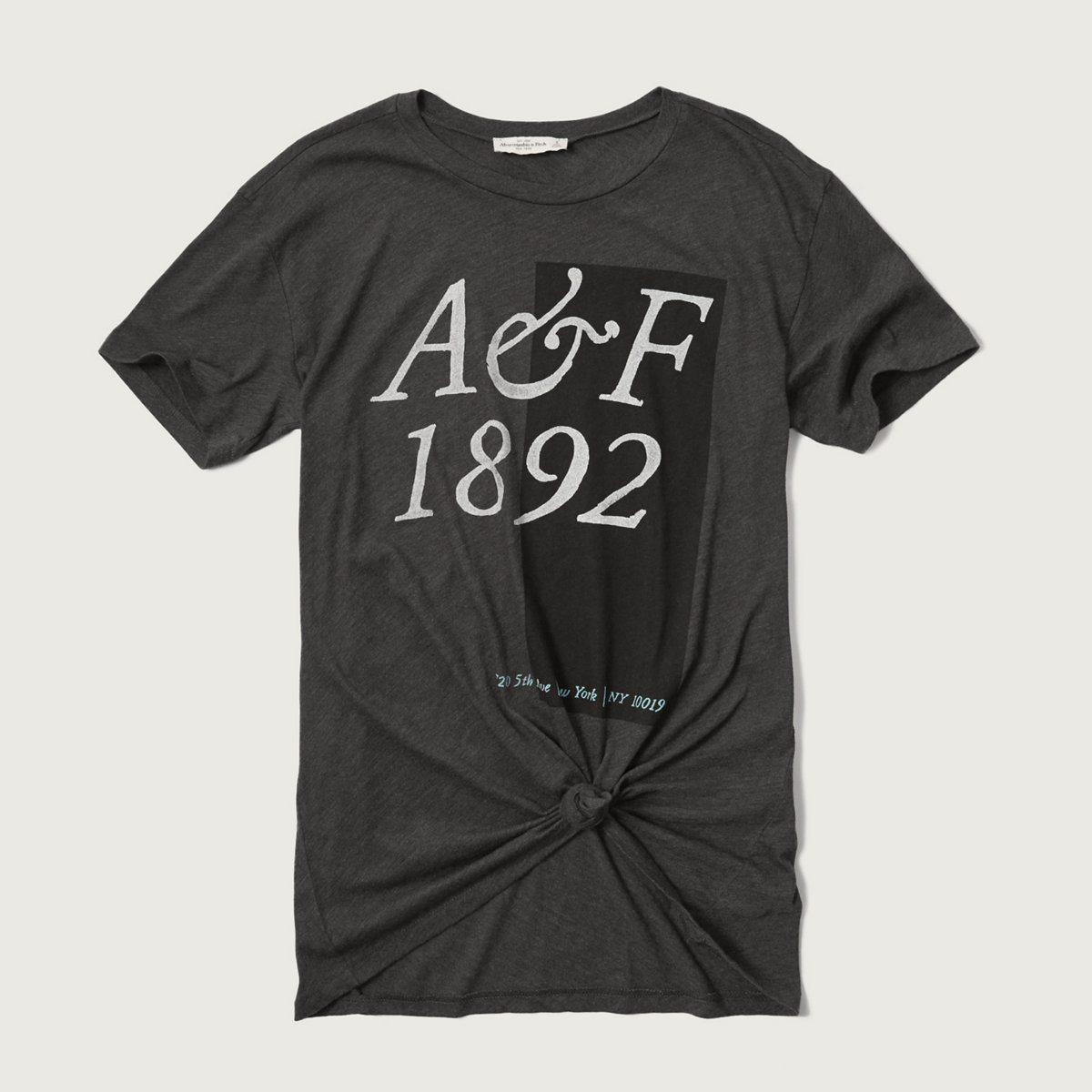 Front Knot Graphic Tee