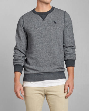 Mens Contrast Icon Sweatshirt