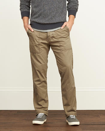 ANF Classic Utility Chinos