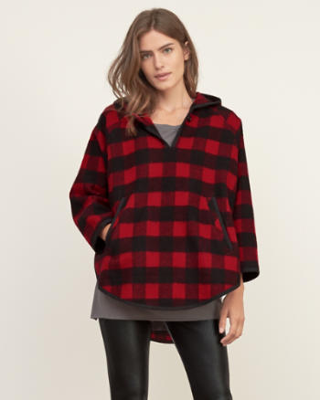 Womens Woolrich Mill Wool Popover
