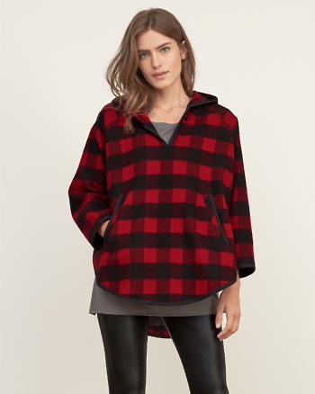 ANF Woolrich Mill Wool Popover
