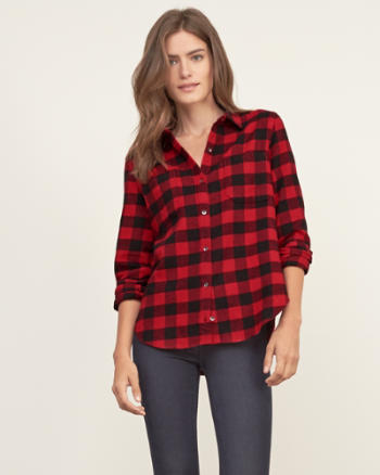 Womens Woolrich Flannel Shirt