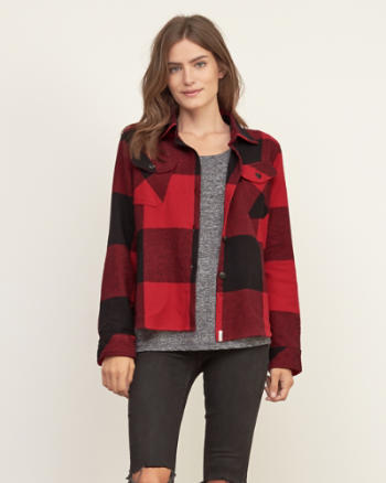Womens Woolrich Oxbow Bend Shirt Jacket