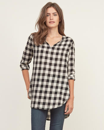 ANF Woolrich Air Flannel Tunic