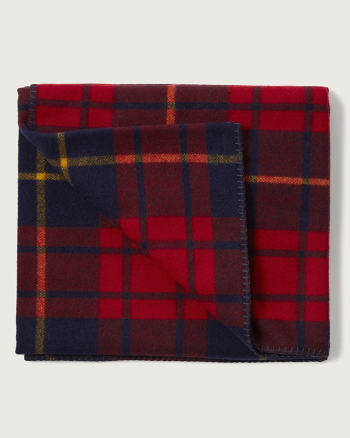 Mens Woolrich with A&F Plaid Blanket