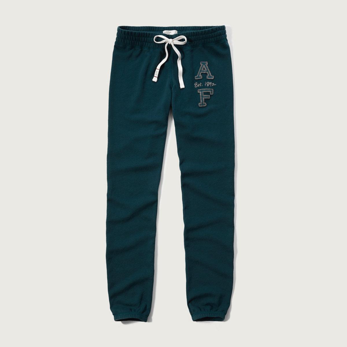 A&F Banded Sweatpants