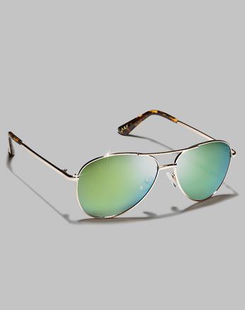 ANF Aviator Style Sunglasses