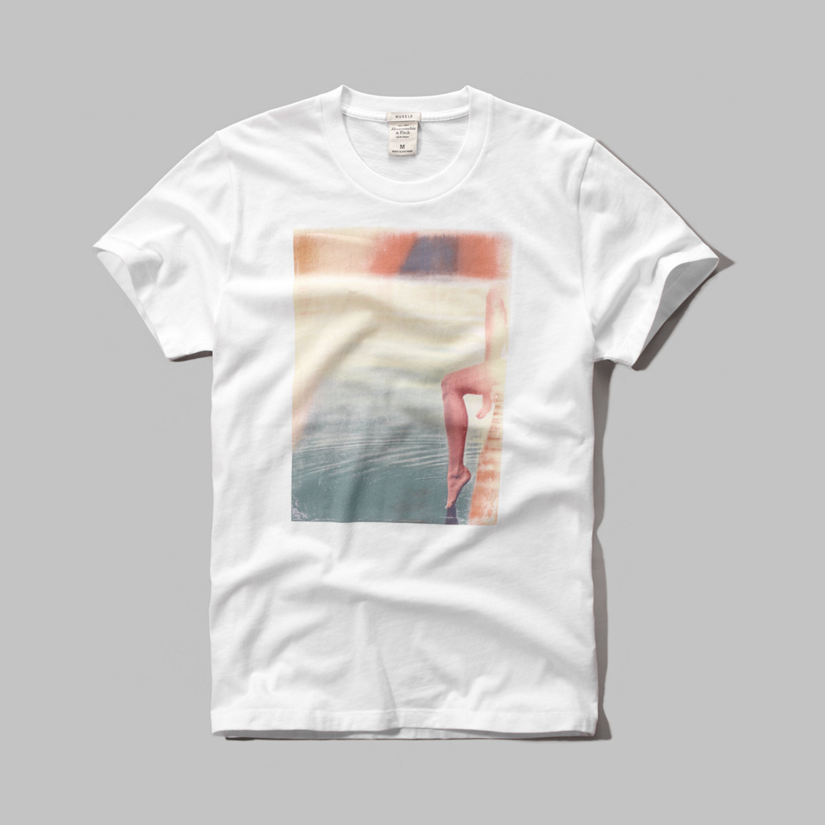 Poolside Photoreal Graphic Tee