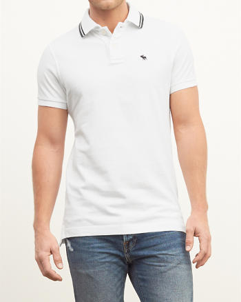 ANF Tipped Polo