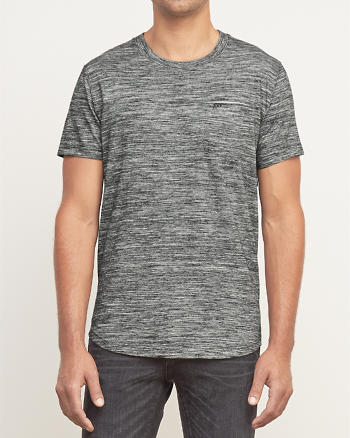 ANF A&F Interior Contrast Pocket Tee