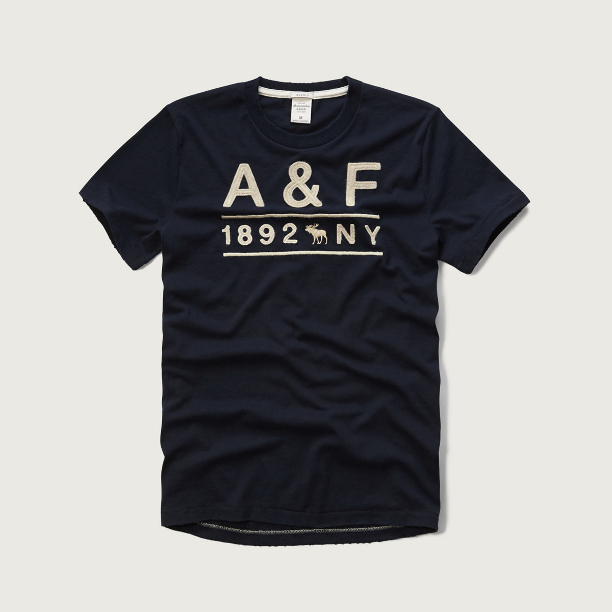 Applique Logo Graphic Tee