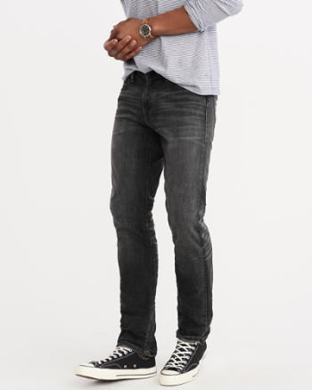 Mens Slim Straight Everyday Stretch Jeans