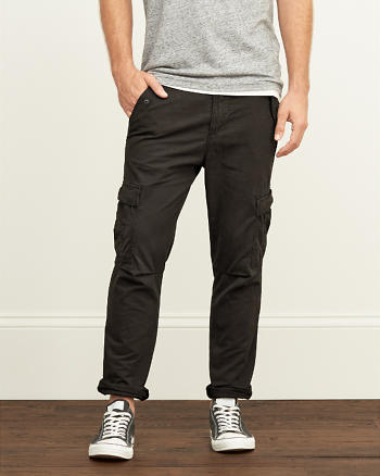 ANF A&F Taper Cargo Pants
