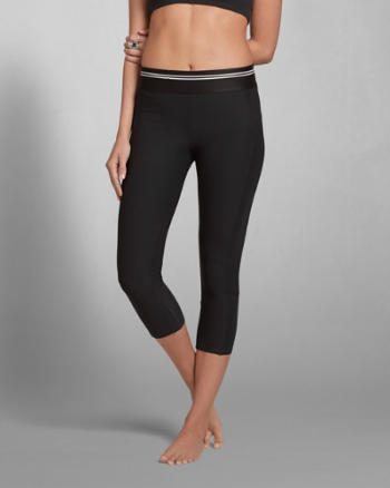 ANF A&F Cropped Leggings