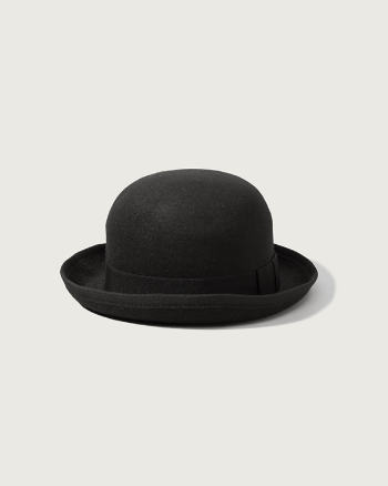 Womens Classic Bowler Hat