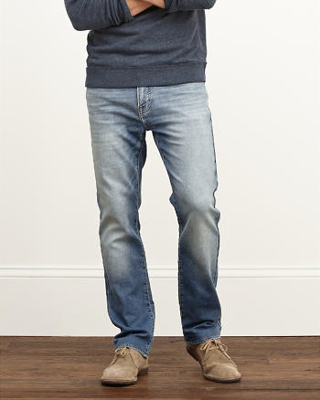 ANF Slim Straight Sweatpant Stretch Jeans