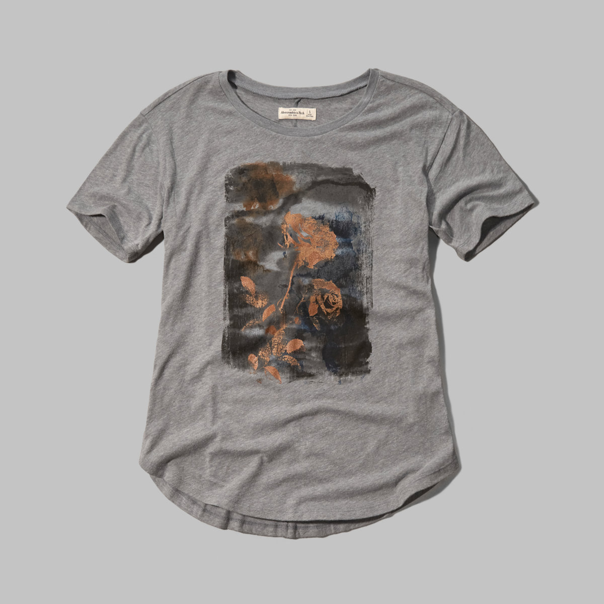 Floral Shine Graphic Tee
