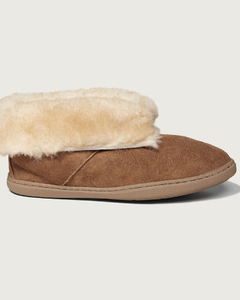 Womens Minnetonka Alpine Sheepskin Slipper