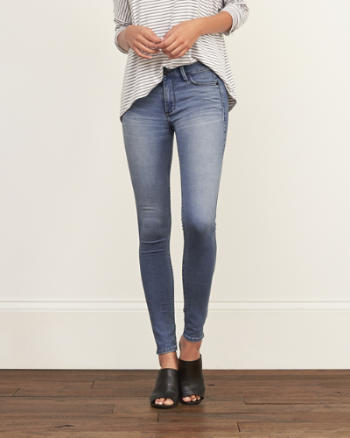 Womens Supersoft Jean Leggings