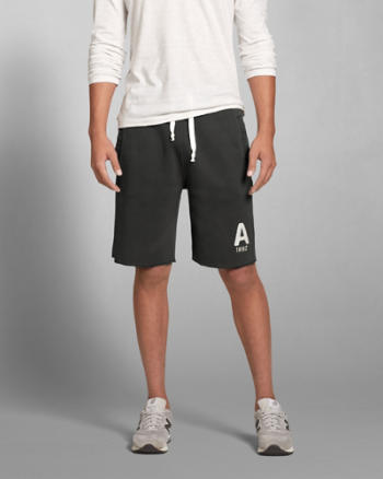ANF A&F Classic Fit Fleece Shorts