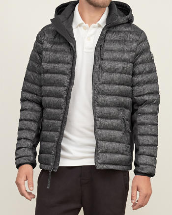 ANF A&F All-Season Lightweight Down Jacket