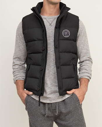 ANF A&F Puffer Vest