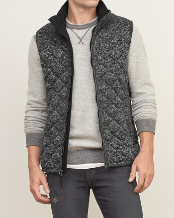 ANF A&F Quilted Vest