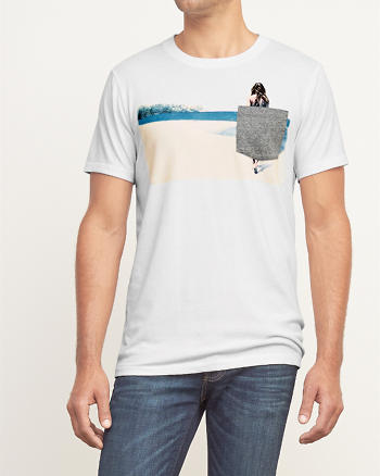 ANF Contrast Graphic Tee