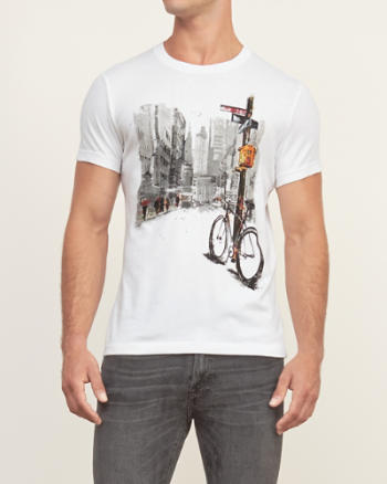 Mens Street Graphic Tee
