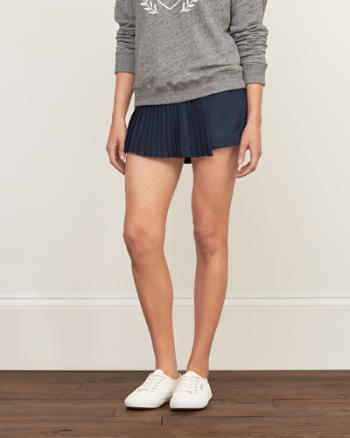 Womens Pleated Skort