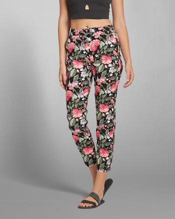 ANF Floral Skimmer Pants
