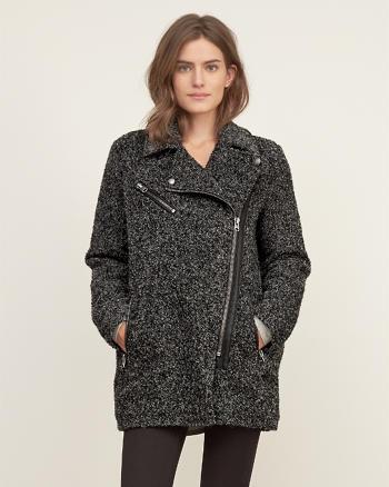 ANF Wool Biker Jacket