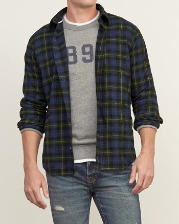 ANF Tartan Twill Shirt