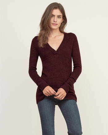 ANF Basic V Neck Sweater