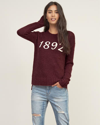 ANF Logo Knit Sweater